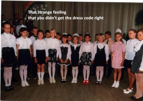 dress code,school,standing out