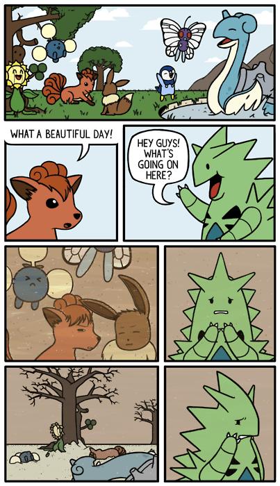 tyranitar sandstorms comics friends - 7116438016