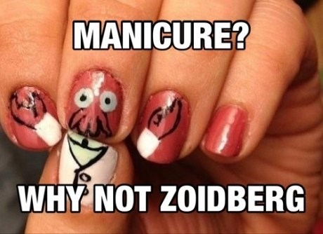 manicures finger nails futurama Zoidberg poorly dressed g rated - 7116512768