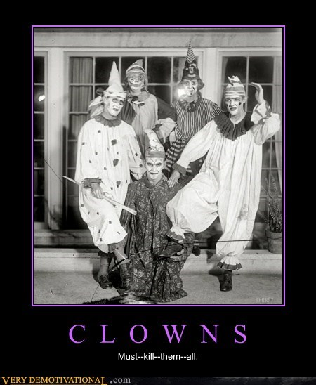 scary clowns horrible - 7116680704