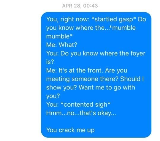 This Sleep Talker's Wife Sends Him Messages to Keep a Record of the Hilarious Things He Said in His Sleep