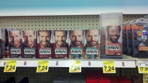 shoplifting,thats-racist,shaving,wait a minute