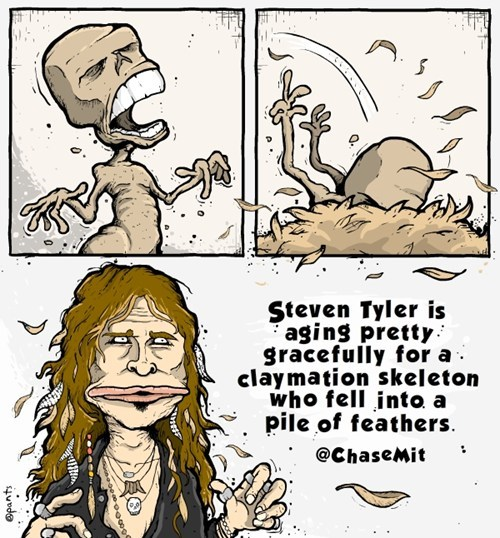 Aerosmith,steven tyler,comics
