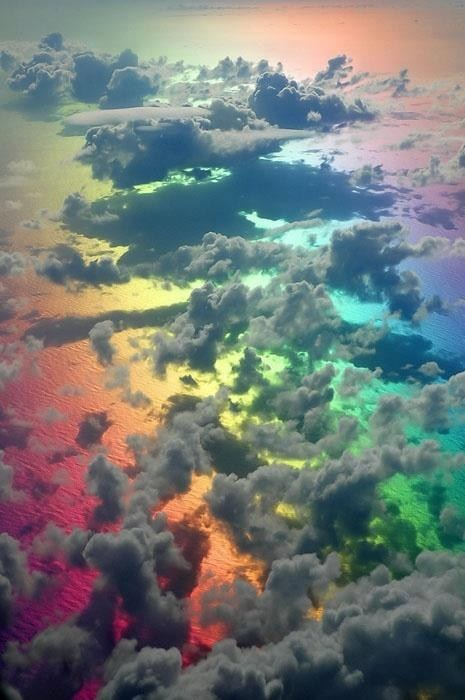 Rainbows and Clouds, My Favorite!