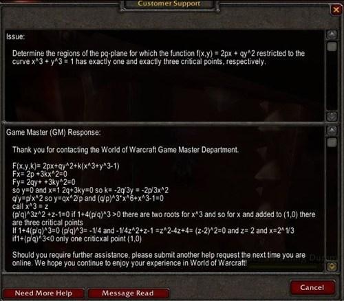 customer service world of warcraft school nerdgasm g rated win - 7117482240