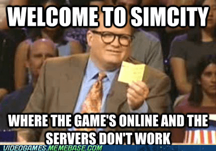SimCity,EA,Memes,whose line is it anyway
