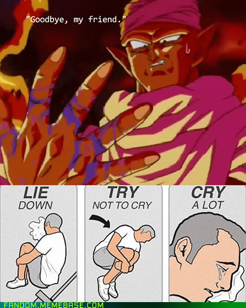 try not to cry piccolo Dragon Ball Z - 7117870848