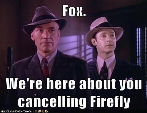 fox Firefly Star Trek