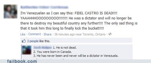 Hugo Chávez Fidel Castro Venezuela failbook - 7118618112
