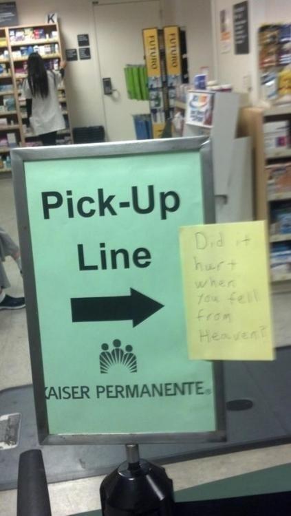 literal,pick-up line