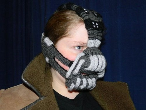 knitting bane nerdgasm superheroes batman g rated win - 7119291136