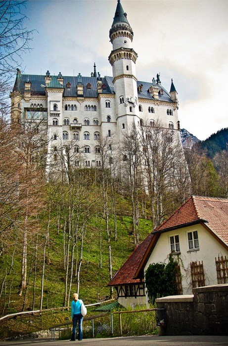 castle,architecture,Germany,magical