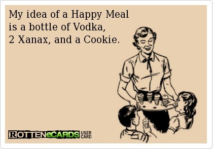 happy meal,toys,vodka,rotten ecards