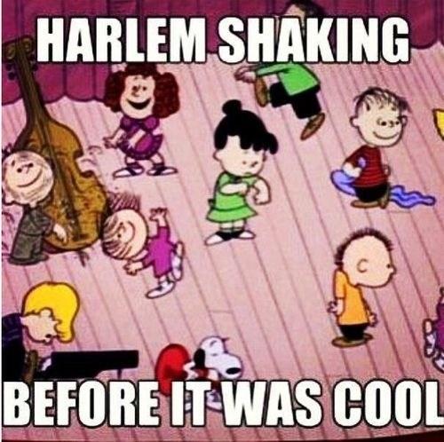 peanuts hipsters harlem shake - 7119397376