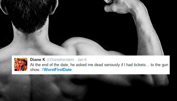 If You Thought Your Date Went Badly, Read These #WorstFirstDate Tweets