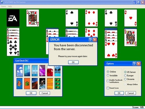 solitaire,SimCity,EA,single player