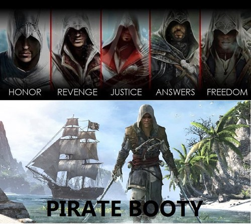 pirates,motivations,assassins creed