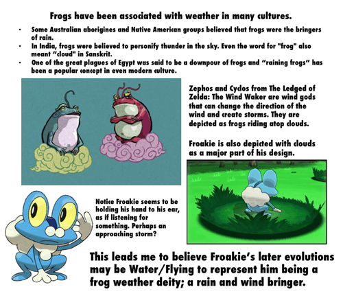 pokemon theories,Pokémon,froakie,frogs
