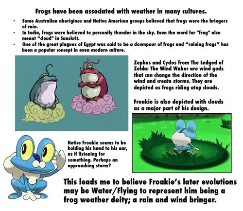 pokemon theories Pokémon froakie frogs - 7119616512