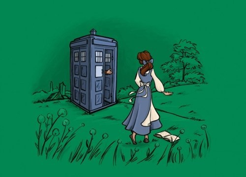 Beauty and the Beast tardis doctor who belle companion - 7119631872