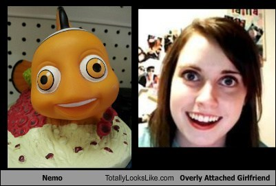 NEMO TLL overly attached girlfriend fish