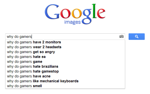 google search,gamers