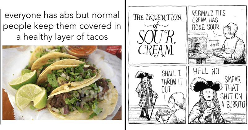 Funny memes and comics.