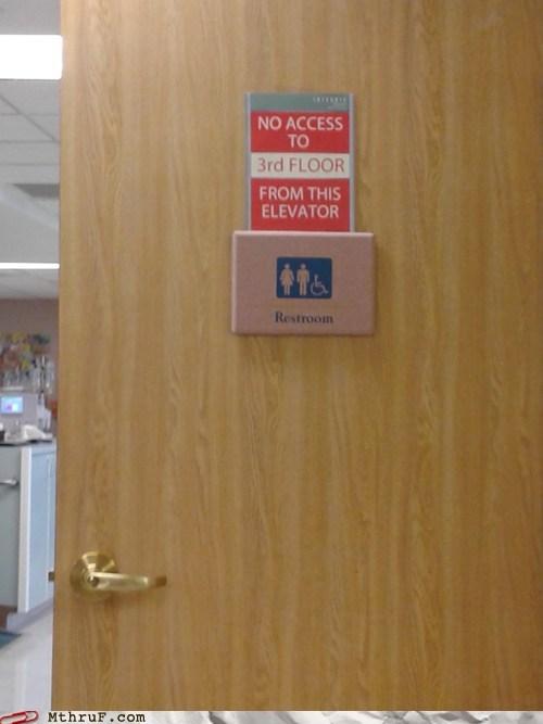 doors,elevators,restroom,budget