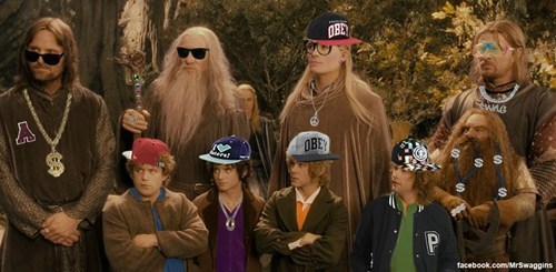 Brodo Swaggins and the Fellowship of the Bling