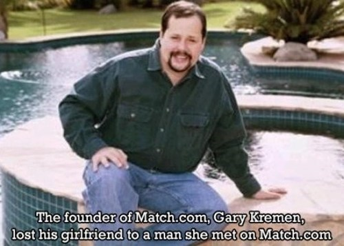 gary kremen,irony,Match.com,dating fails,g rated