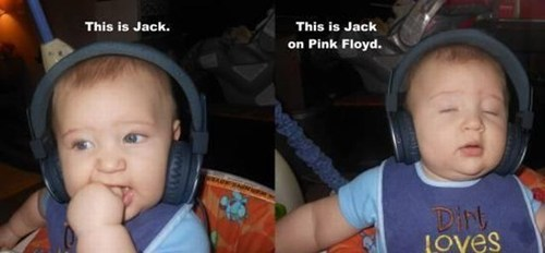 Babies pink floyd headphones Music FAILS g rated - 7121528832
