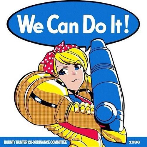 samus internation women's day Metroid - 7121552640