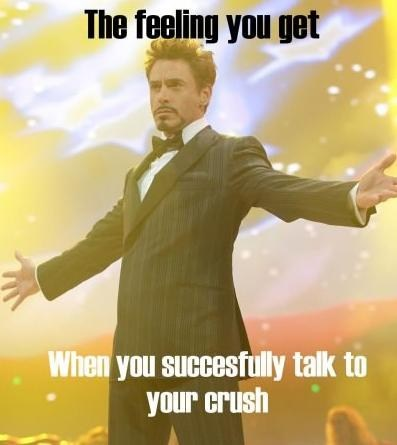 tony stark,talking,crush,dating fails,g rated