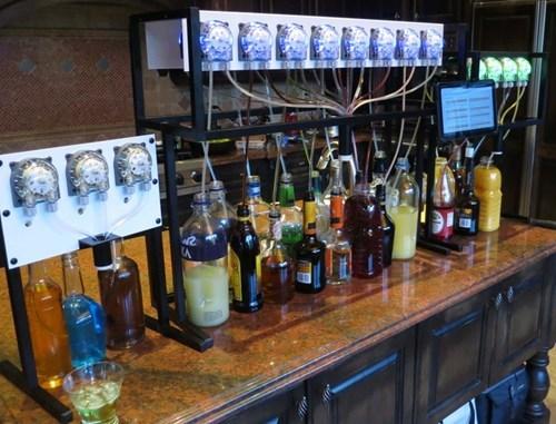 kickstarter mixing drinks robots