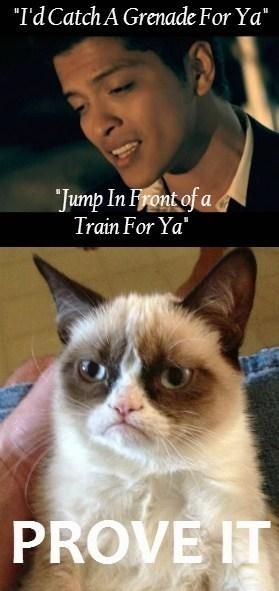 Grumpy Cat,grenade,bruno mars