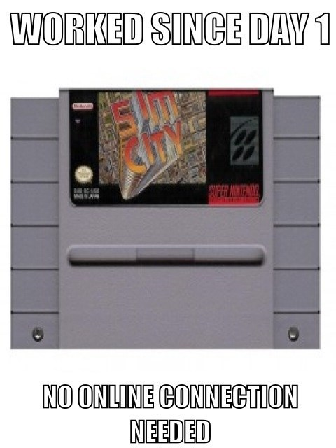 SimCity,retro,Super Nintendo,EA