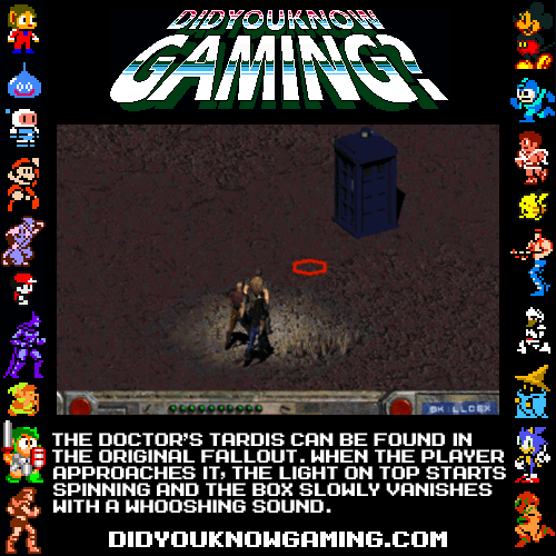 crossover fallout doctor who video games - 7122123776