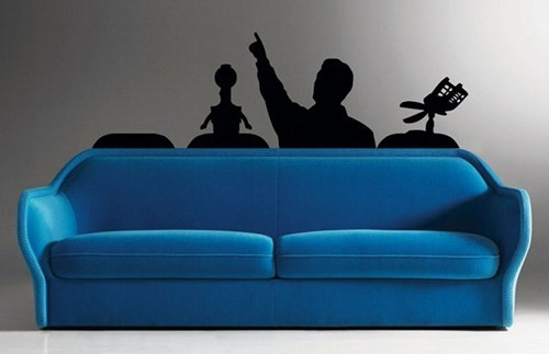 decorations couch nerdgasm mystery science theater 3000 - 7122282752