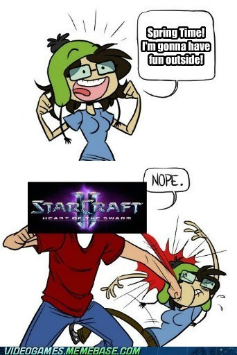 spring pcs Memes StarCraft II video games - 7122542336