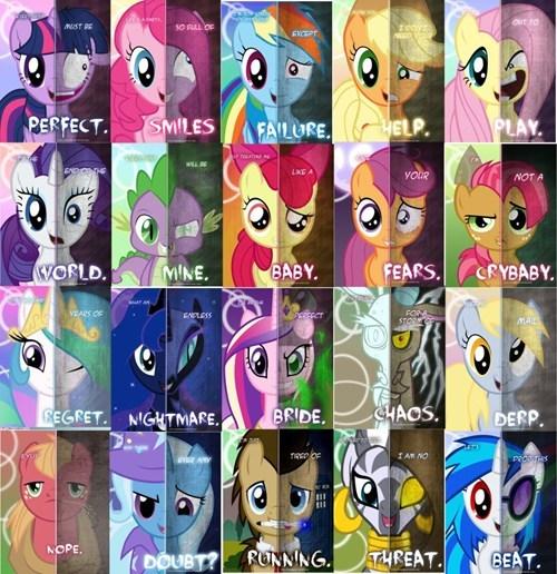 ponies posters dark side - 7122549248