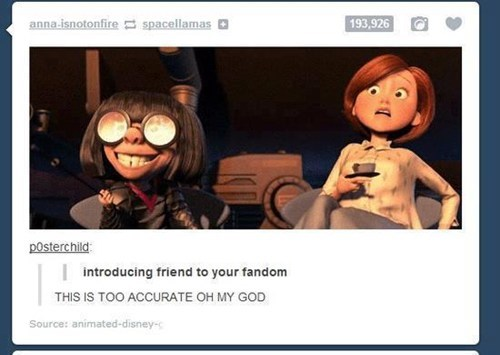 the incredibles,fandom problems