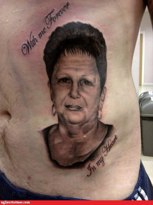 tribute tattoos,portrait tattoos,lat tats