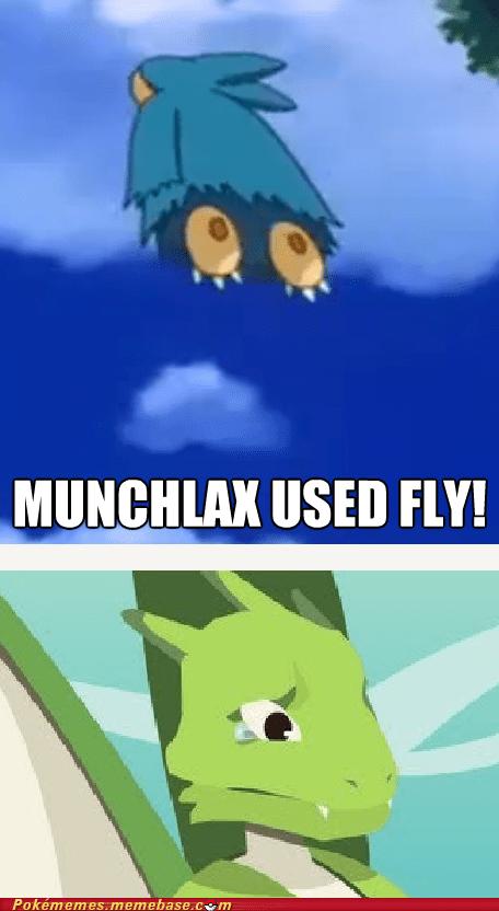 fly munchlax scyther - 7124760576