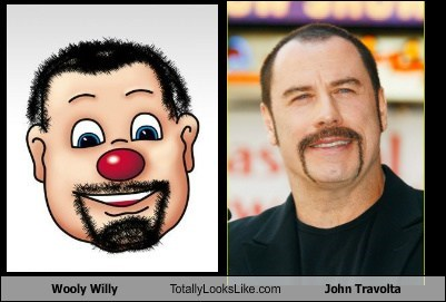 john travolta,TLL,wooly willy