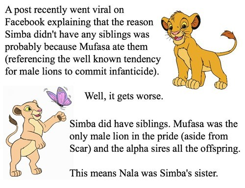 Ruined Childhood,the lion king,disney
