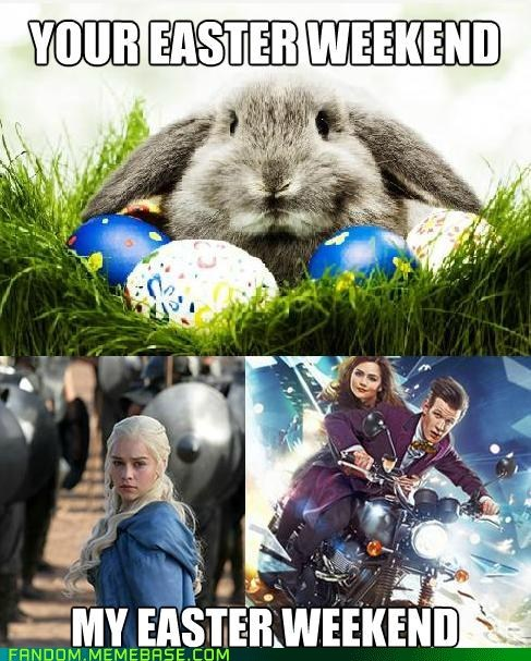 easter Game of Thrones doctor who - 7125822464