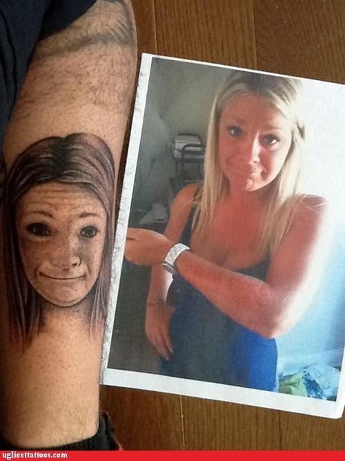 leg tattoos portrait tattoos Nailed It - 7125881088