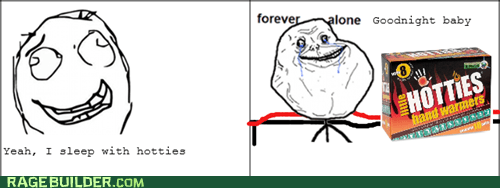 forever alone,hotties,relationships,dating