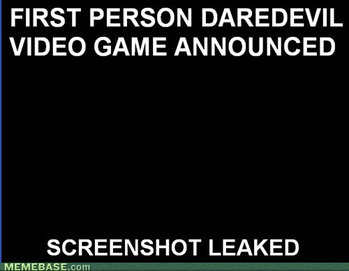 screenshot,I see what you did there,superheroes,video games,daredevil
