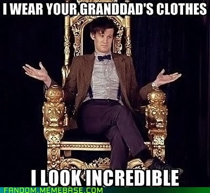 thrift shop Macklemore 11th Doctor doctor who - 7127436544